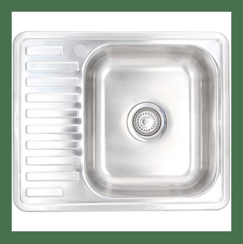 HAFELE อ่างล้างจาน 1 หลุมมีที่พัก  495.39.275