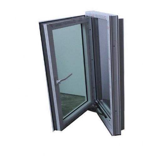 RKT หน้าต่างบานเปิดขวา 160X0.60 cm Rakangthong สีขาว