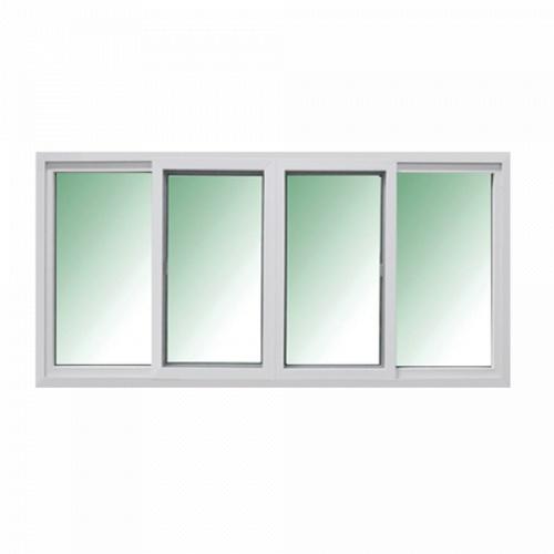 RKT หน้าต่าง UPVC เปิดกลาง ข้าง 180x110 ซม. (4) FIX