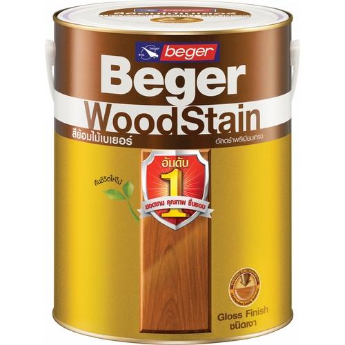 Beger สีย้อมไม้ชนิดเงา 1กล. G-1901 สีสักทอง