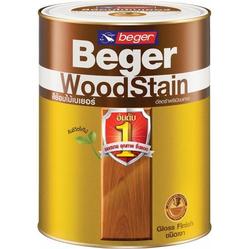 Beger สีย้อมไม้ชนิดเงา G-1906 (PYINKADO/สีไม้มะค่า)