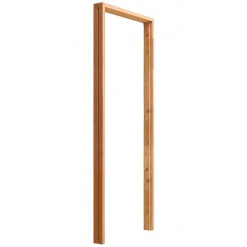 D2D วงกบประตูไม้ดักลาสเฟอร์  ขนาด 154x200ซม.  FJ COM.2  สีธรรมชาติ