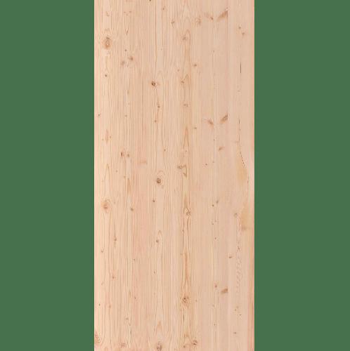 D2D ประตูไม้ดักลาสเฟอร์ บานทึบเรียบ ขนาด 90x220ซม.  Eco Pine-88  ไม้ธรรมชาติ