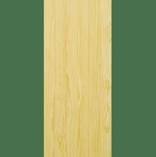D2D ประตูไม้สนนิวซีแลนด์ บานทึบทำร่อง ขนาด 80x200ซม. D2D-503 ไม้ธรรมชาติ