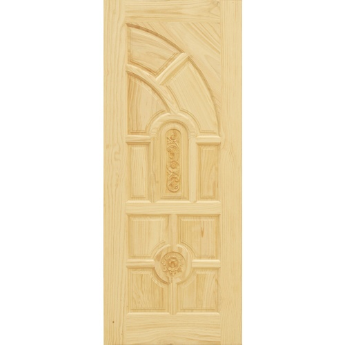 D2D ประตูไม้สนนิวซีแลนด์ ขนาด 80x200 ซม. Eco Pine - 005