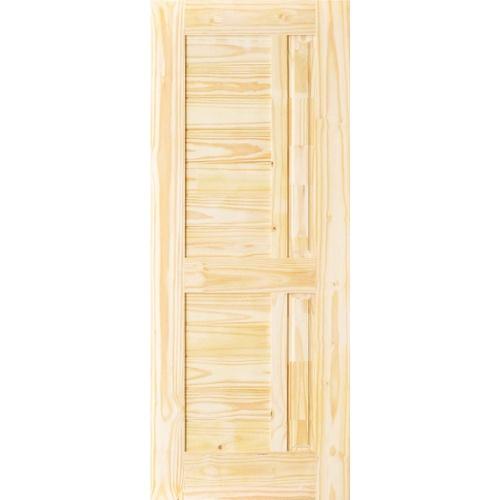 - ประตูไม้สนนิวซีแลนด์ ขนาด 83x210 cm.  Eco Pine-007