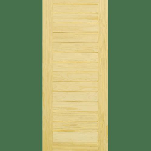 D2D ประตูไม้สนนิวซีแลนด์ ขนาด 70x200cm. D2D-502