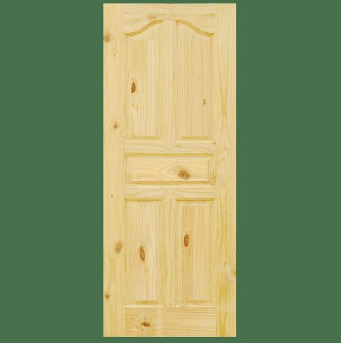 D2D ประตูไม้สนนิวซีแลนด์ ขนาด 70x220cm.  Eco Pine-017