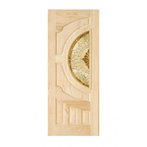 D2D ประตู ไม้สนนิวซีแลนด์ ขนาด 90x200 cm. D2D-417