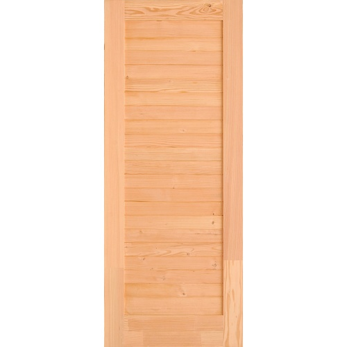 D2D ประตูไม้ดักลาสเฟอร์ ขนาด  70x200cm.  Eco Pine-029