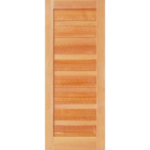 D2D ประตูไม้ดักลาสเฟอร์ ขนาด 80x200cm. Eco Pine-050
