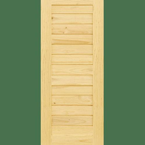 - ประตูไม้สนนิวซีแลนด์ขนาด 90x220cm. Eco Pine-001