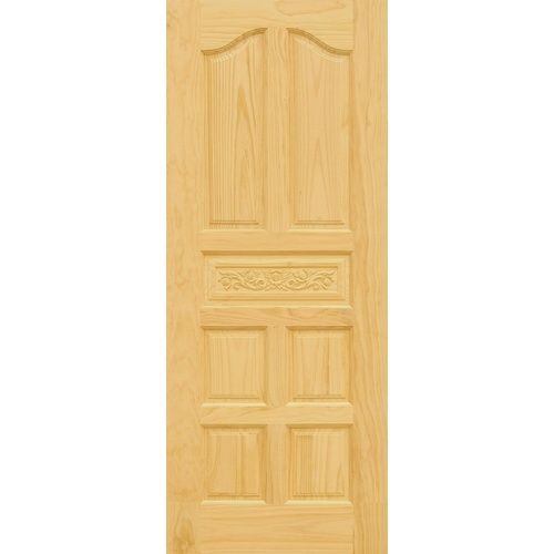 D2D ประตูไม้สนนิวซีแลนด์ขนาด 80x180 cm.  Eco Pine-010