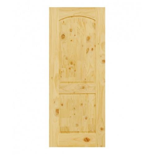 D2D ประตูไม้สนนิวซีแลนด์ ขนาด 100x200cm.  Eco Pine-008