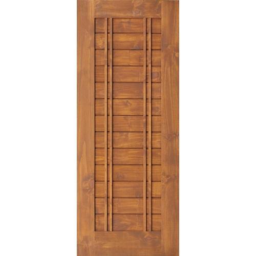 D2D ประตูไม้สนนิวซีแลนด์สีเบรินแอช Eco Pine-Ezero 6  ขนาด 80x200cm.  Eco Pine-Ezero 6สีเบรินแอช
