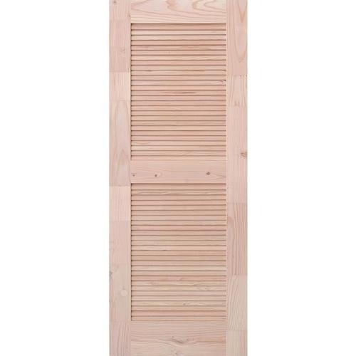 D2D ประตูไม้ดักลาสเฟอร์ ขนาด 80x200 cm. Eco Pine-020