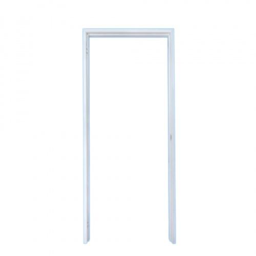 PROFESSIONAL DOOR วงกบประตูเหล็ก ขนาด 70x200cm. เปิดขวา  FR70RW สีขาว