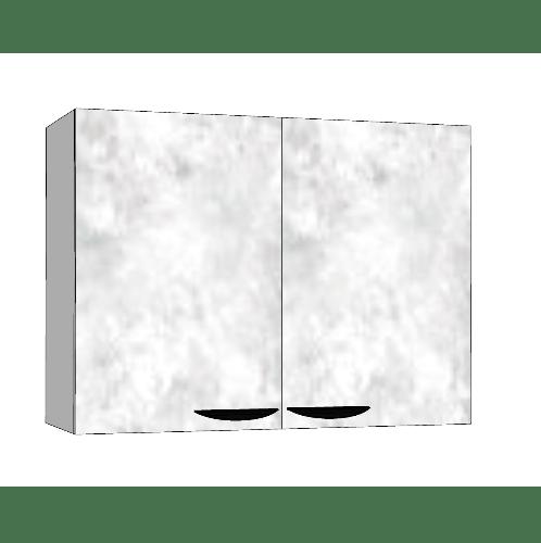 MJ ตู้แขวนคู่   สีหินอ่อนขาว GC-W608 -WM