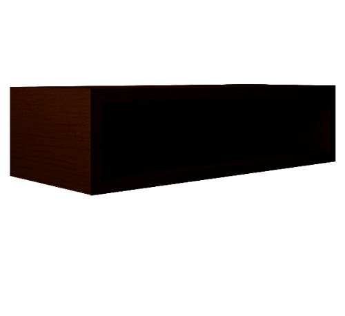 MJ ตู้แขวนเสริม  สีวอลนัท SAV-WS209-WN วอลนัท