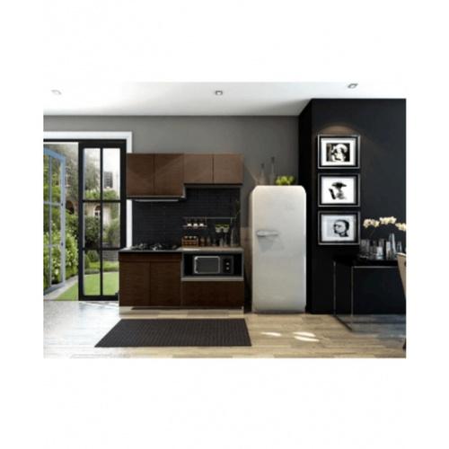 MJ ชุดครัวสำเร็จรูป ขนาด 1.65  HG-CS0165-WN สีวอลนัท