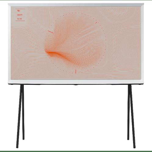 SAMSUNG TV THE SERIF UHD QLED ขนาด 43 นิ้ว QA43LS01TAKXXT