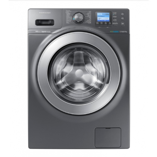 SAMSUNG เครื่องซักผ้าฝาหน้า ซัก อบ WD12F9C9U4X/ST