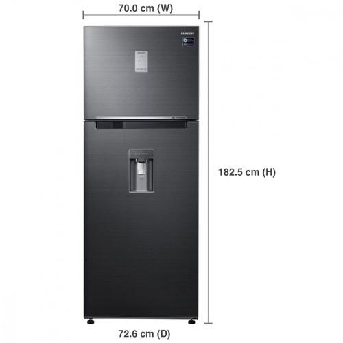SAMSUNG ตู้เย็น 2 ประตู 18.7 คิว RT53K6655BS/ST สีเทา