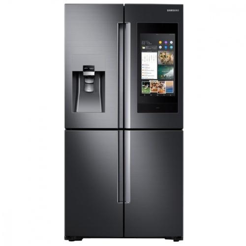 SAMSUNG ตู้เย็น Family hub 550ลิตร RF56N9740SG/ST สีดำ