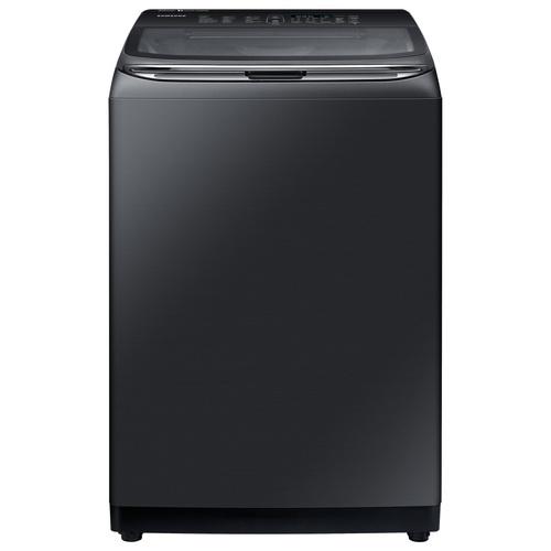 SAMSUNG เครื่องซักผ้าอัตโนมัติ  22 กก. WA22R8870GV/ST สีดำ