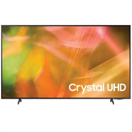 SAMSUNG โทรทัศน์ Crystal UHD TV ขนาด 55 นิ้ว UA55AU8100KXXT สีดำ