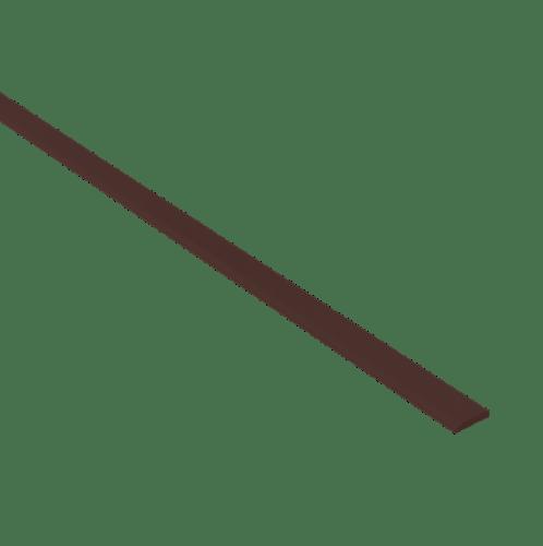 DURA ไม้มอบดูร่า 5x300x0.8 สีโอ๊คเข้ม -