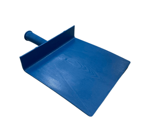W.PLASTIC  กะบะปูน PP ขนาด 21x22 ซม.  สีฟ้า