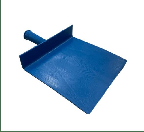 W.PLASTIC กะบะปูน PP  ขนาด 21x22 ซม. (โหล) สีฟ้า