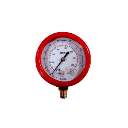 REX เกจวัดแรงดัน RX-4010 สีแดง