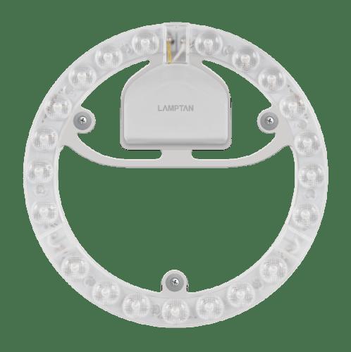 Lamptan  หลอดแอลอีดีแม่เหล็ก 24W/DL   LENS MODULE สีขาว