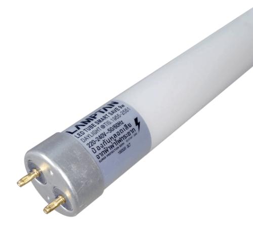 Lamptan หลอดไฟ LED T8 9W สมาร์ทเซฟ แสงเดย์ไลท์  ขาว