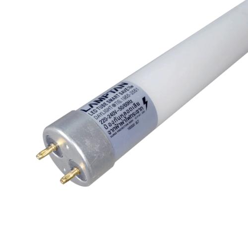 Lamptan หลอดไฟ LED T8 18W สมาร์ทเซฟ แสงเดย์ไลท์ ขาว