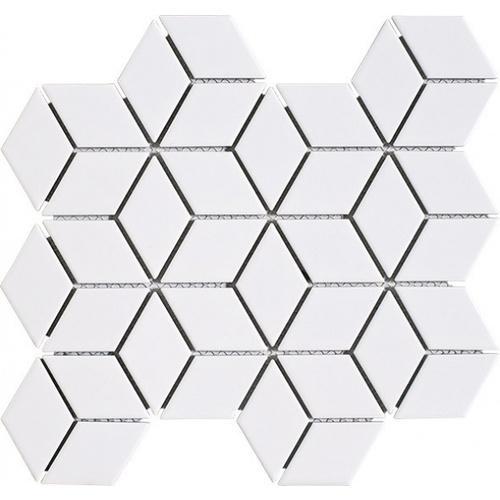 Marbella โมเสค 30x30x0.6cm ทาลาฟ C0302TC  สีขาว