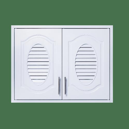 Polywood ตู้แขวนคู่ M-SERIES Nature ขนาด 86x66x34 cm. M-11  สีขาว