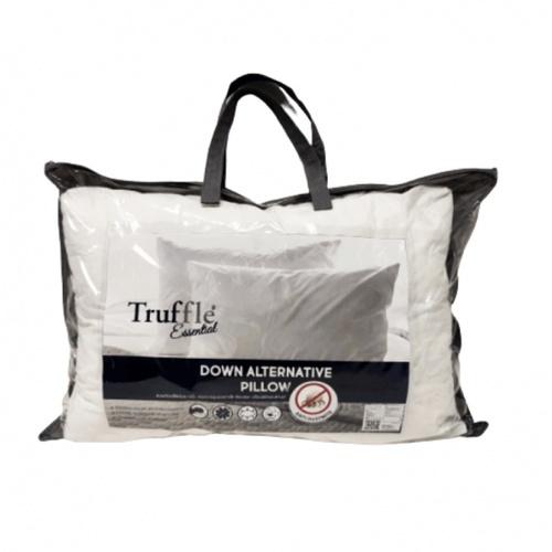Truffle หมอนหนุนขนห่านเทียม  Essential สีขาว