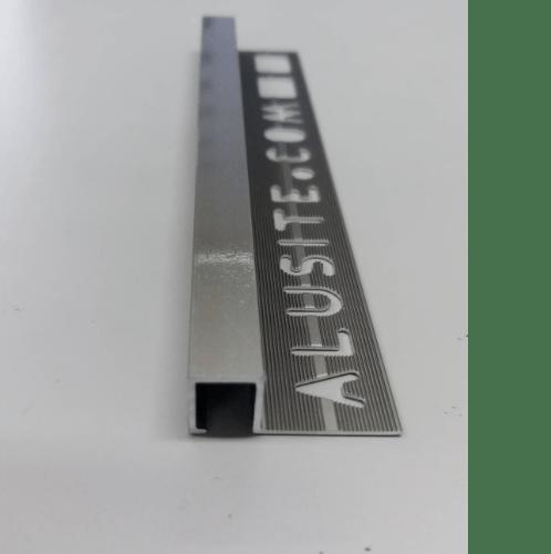 Alusite คิ้วอลูมิเนียมแบบเหลี่ยม 10 มม. ยาว 2 เมตร. TSAP100 Matt Bronze.
