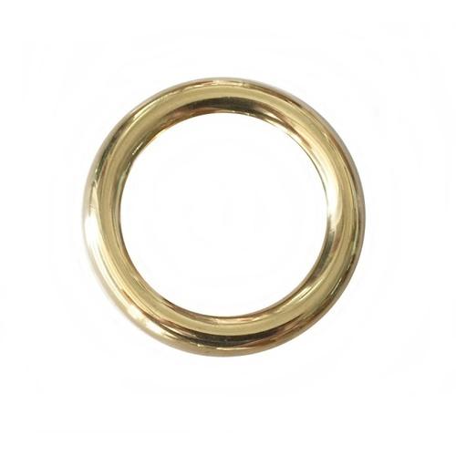 LUKLOK ลายประกอบเหล็กดัด โดนัท ขนาด 3/4 นิ้ว x10cm.  C-087 สีทอง