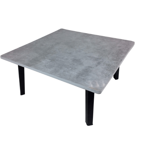 Delicato โต๊ะญี่ปุ่น ขนาด 60x60 ซม. สีปูนอ่อน