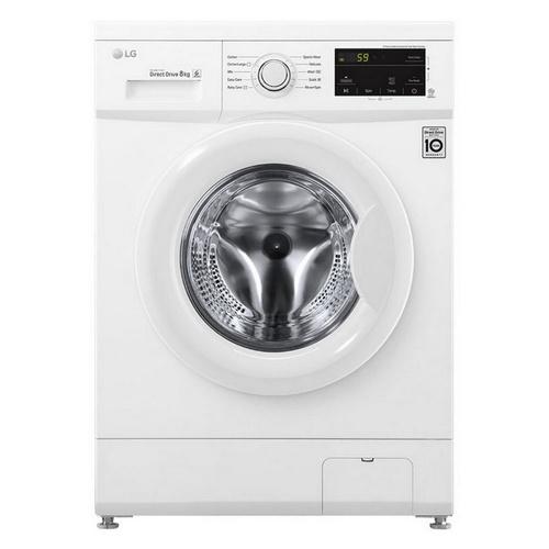LG เครื่องซักผ้าฝาหน้า 8 กก.  FM1208N6W