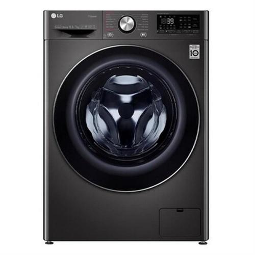 LG เครื่องซักผ้า/อบผ้าฝาหน้า (10.5/7 kg) FV1450H2B.ABLPETH สีดำ