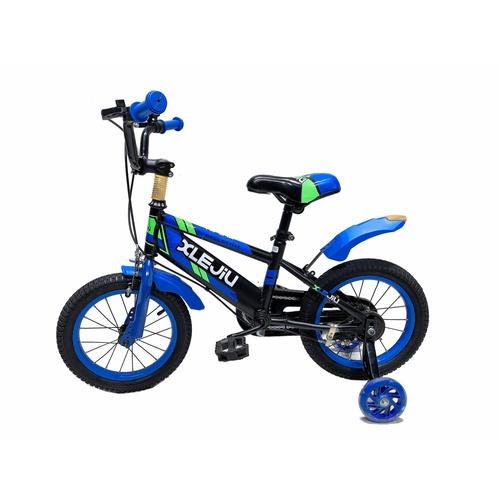 NINO WORLD จักรยานเด็ก 16 นิ้ว เหมาะกับเด็ก  3-8 ขวบ 15823-M17 สีฟ้า