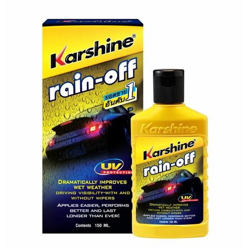 Karshine น้ำยาเคลือบกระจก Karshine 150 มล. Rain Off 150 ml.