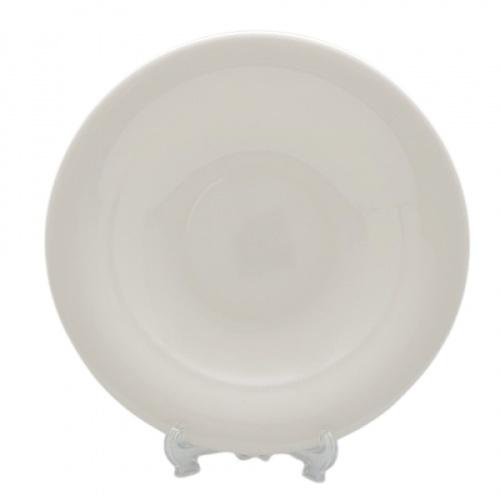 ADAMAS จานเมลามีนทรงลึก 9.3นิ้ว ขนาด 22.8x22.8x3.7 ซม.  MA0622 สีขาว