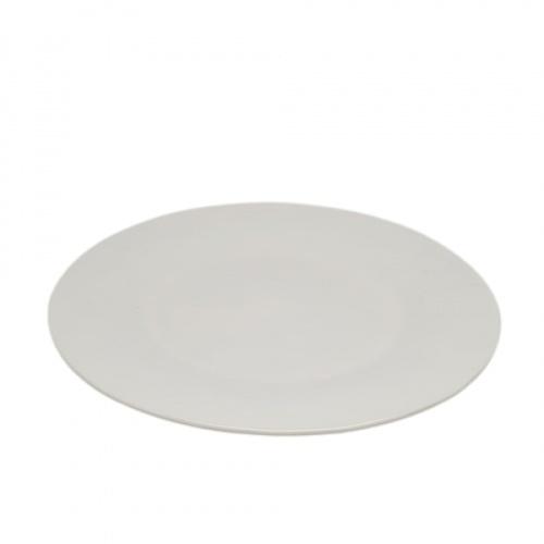 ADAMAS จานเมลามีนทรงตื้น 8.8นิ้ว ขนาด 21.6x21.6x1.5 ซม.  MA1222 สีขาว