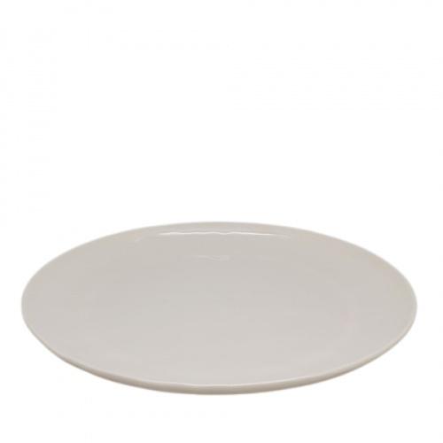 ADAMAS จานเมลามีนทรงตื้น 11นิ้ว ขนาด 27.3x27.3x2.4 ซม.  MA1249 สีขาว